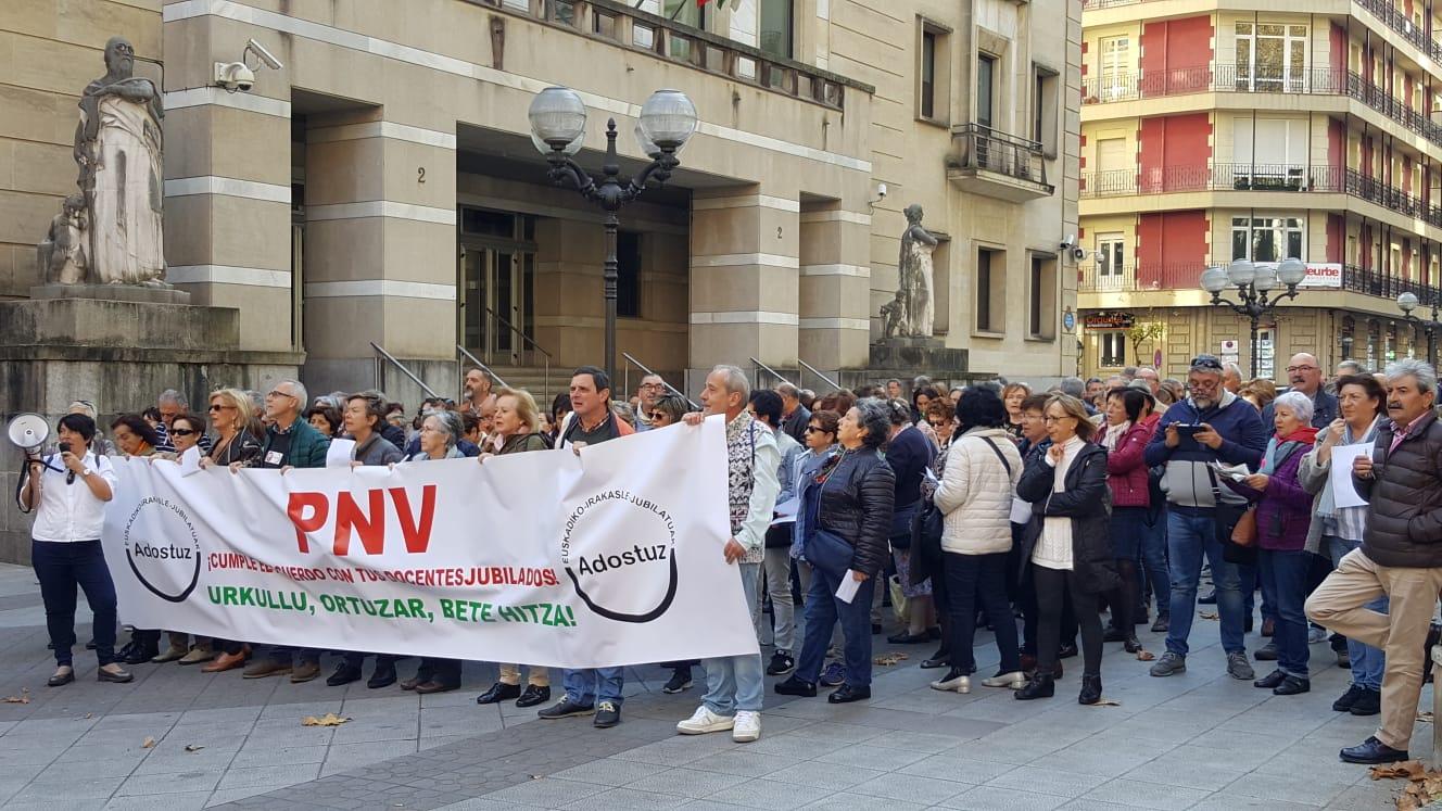 Concentraciones en Bilbao 15/11/2018