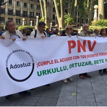 Concentración en Bilbao 24/05/2018
