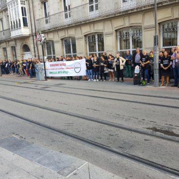 Eusko Legebiltzarrean kontzentrazioak. 20/09/2019
