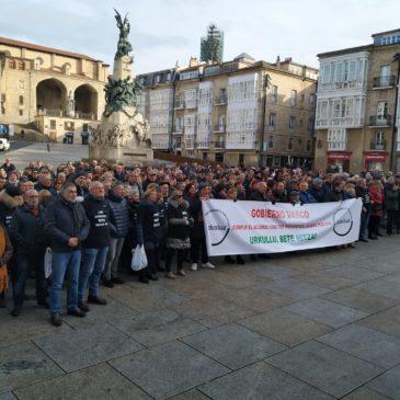 Vitoria-Gasteizen kontzentrazioa 2019/11/20