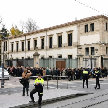 Concentración Vitoria-Gasteiz 27/11/2019